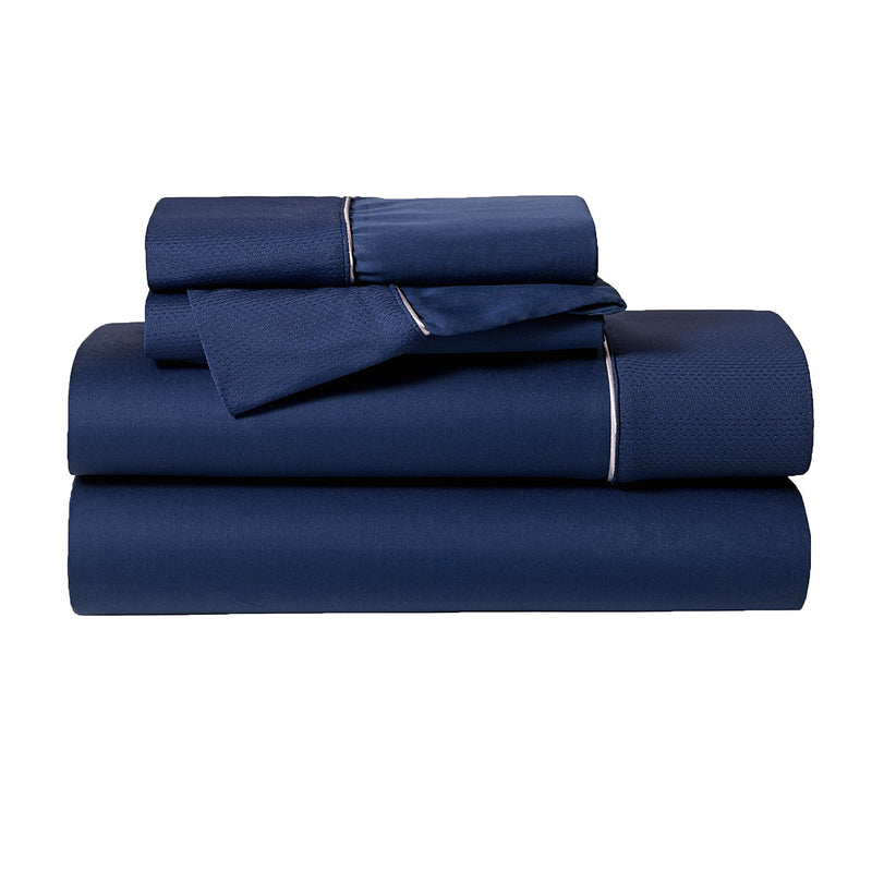 Bedgear™ Hyper-Cotton™ Queen Sheet Set - Navy