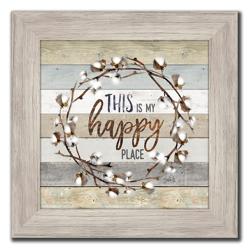 Wreath Message - II Wall Art - 12 X 12