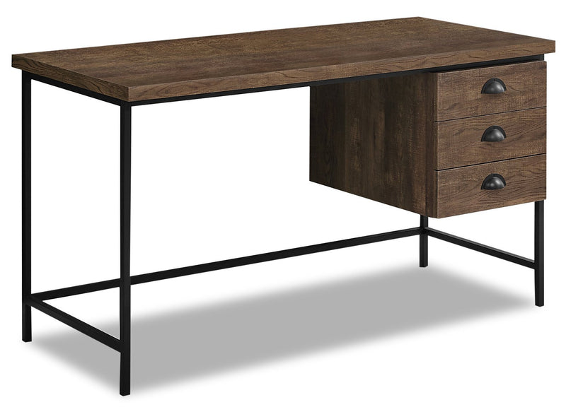 "Dysart 55"" Reclaimed Wood Look Desk - Brown"
