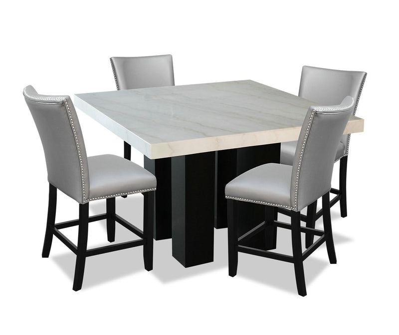Westdale 5-Piece Counter-Height Dining Set - Grey