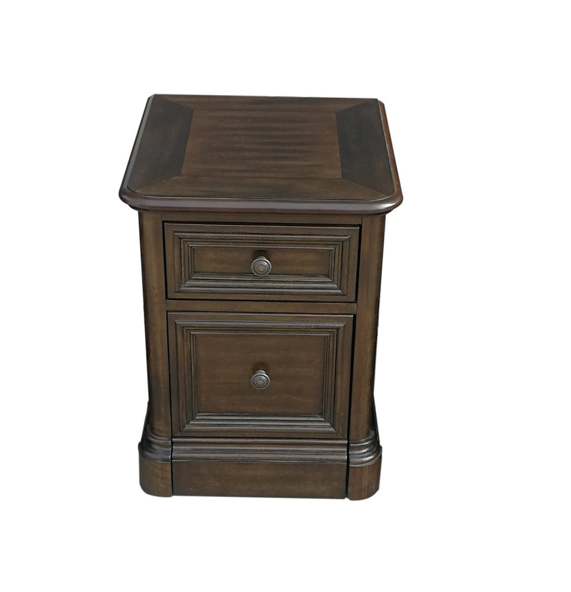 Shane File Cabinet - Tuscany Brown