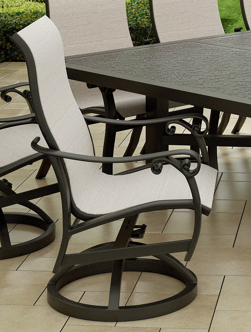 Bella Nova Dining Swivel Rocker