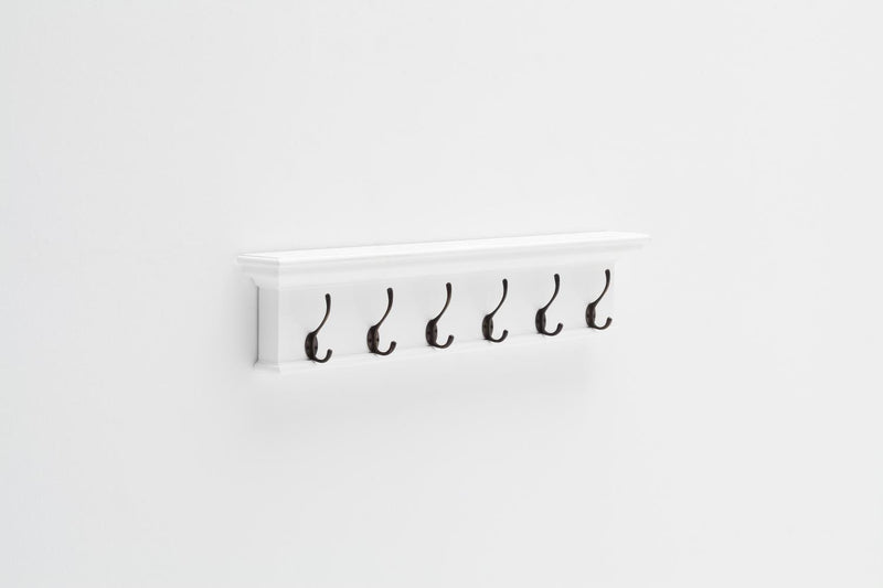 Bari 6-Hook Coat Rack