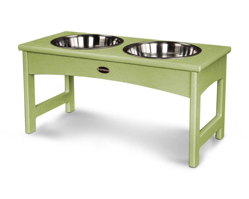 POLYWOOD® Woofs Pet Feeder - Lime