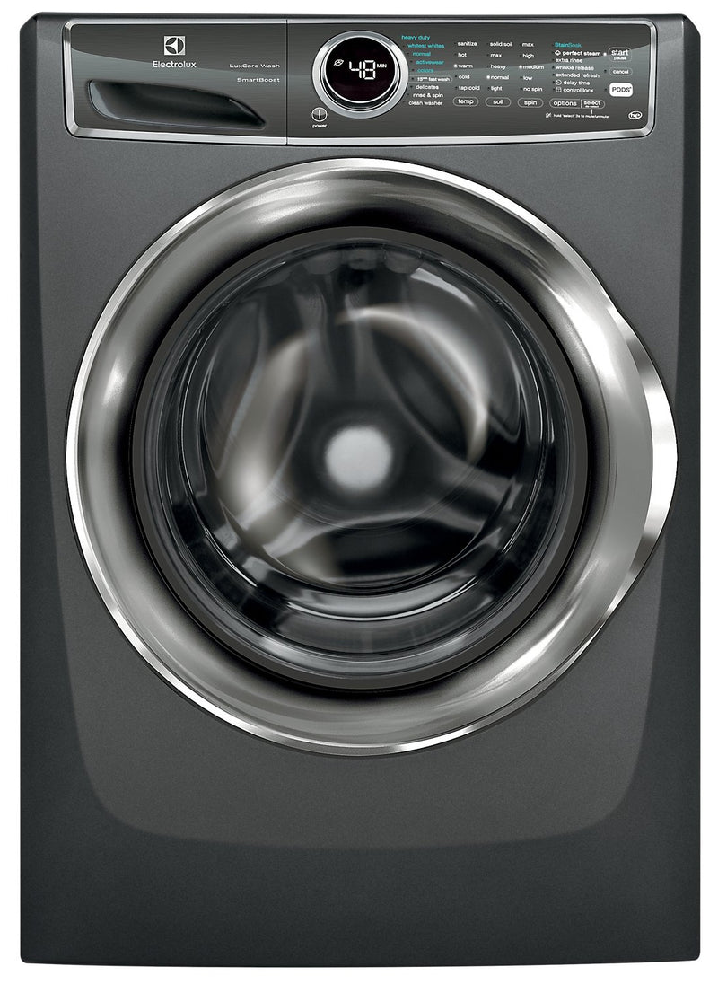 Electrolux 5.1 Cu. Ft. IEC Front-Load Steam Washer with LuxCare Wash and SmartBoost – EFLS627UTT