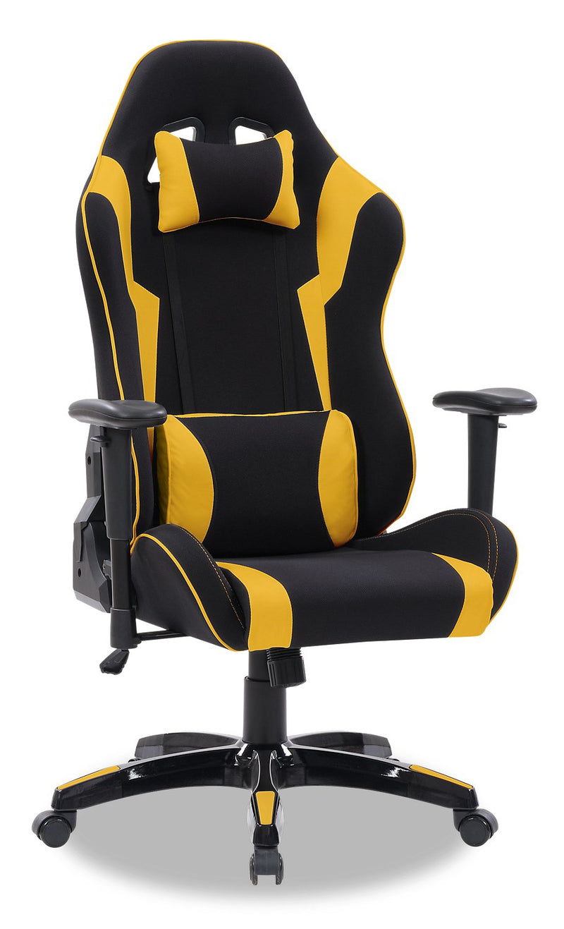 ABXY Gamer Chair - Black and Yellow