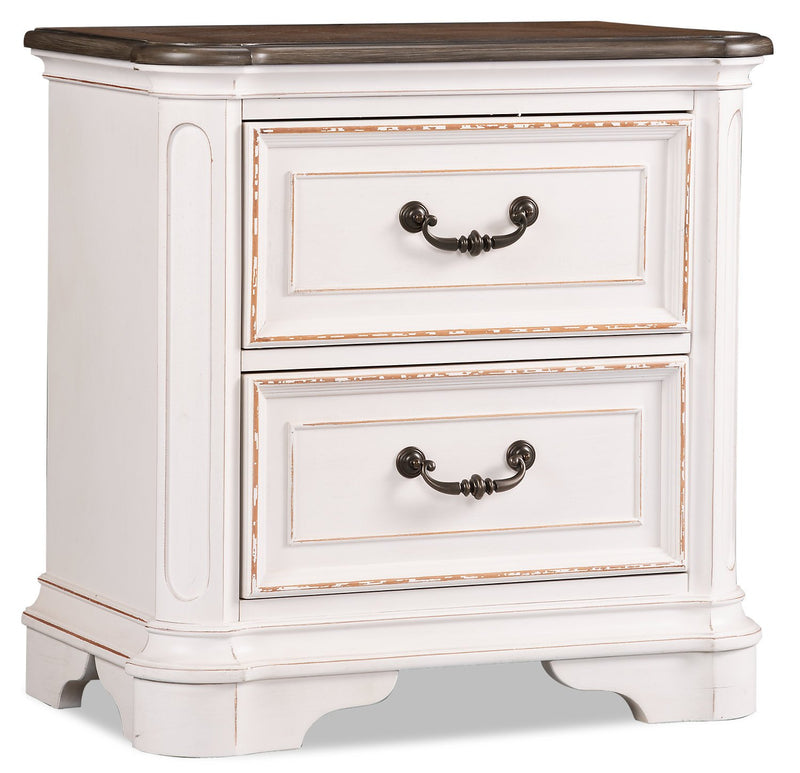 Aurelia Nightstand – Antique White