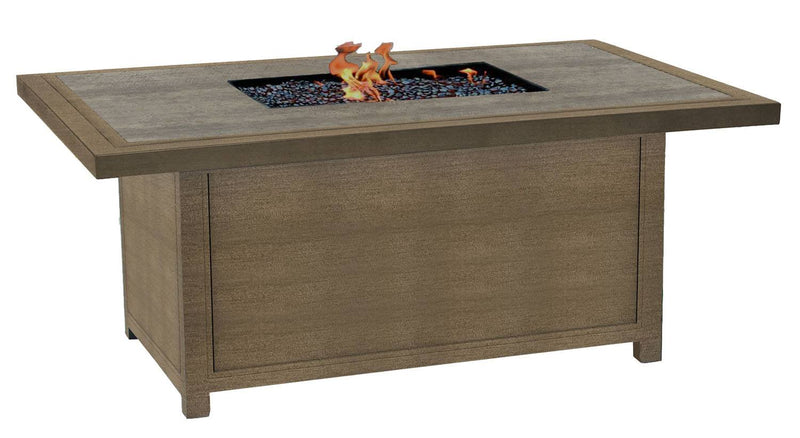 "Altra 36"" x 52"" Rectangular Firepit Coffee Table"