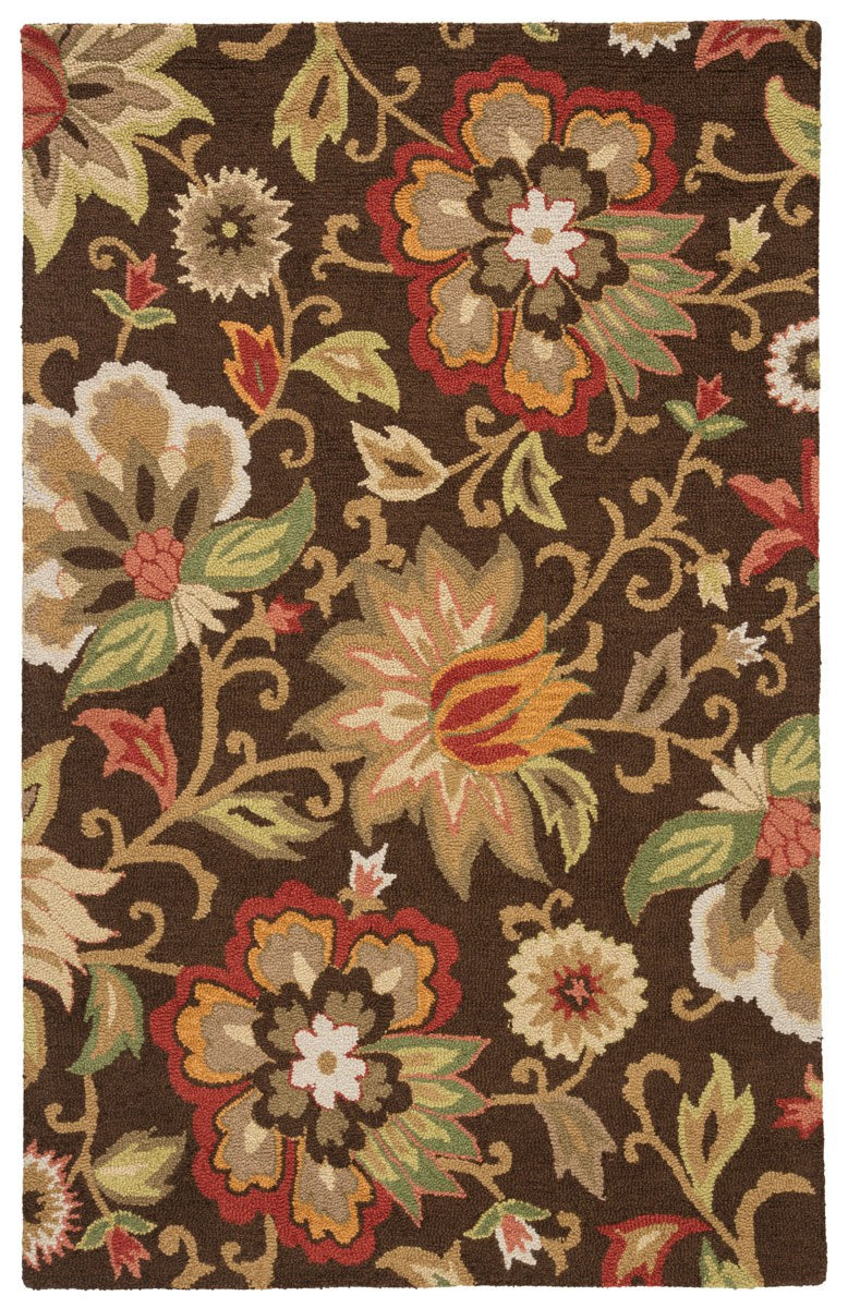 Attalou II Area Rug - 5' X 8' - Brown/Multi
