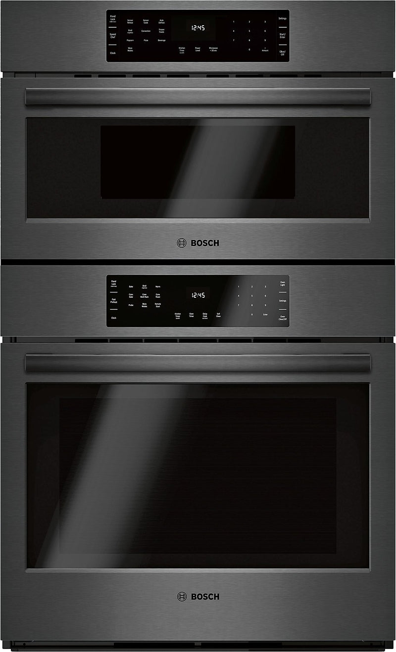 Bosch 4.6 Cu. Ft. 800 Series Smart Microwave Combination Wall Oven - HBL8743UC