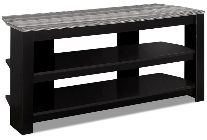 "Payette 42"" TV Stand - Black and Grey"
