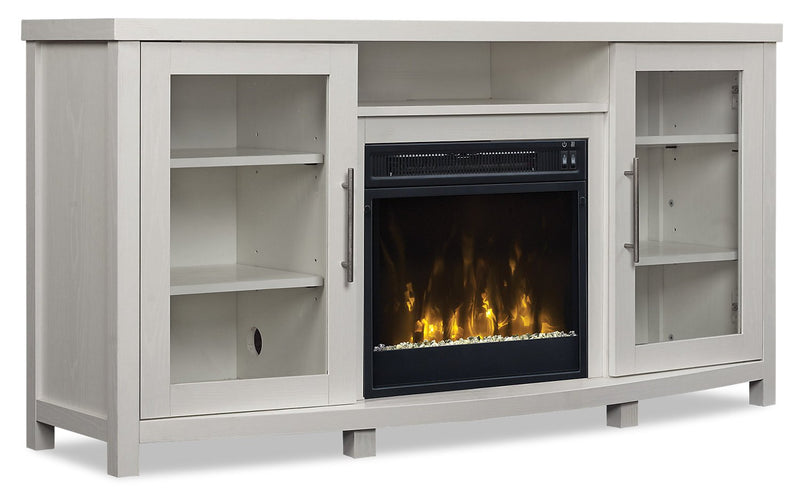 Bonair TV Stand with Firebox