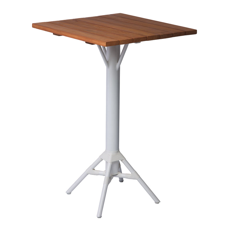"Cochrane 28"" Outdoor Cafe Table - White"
