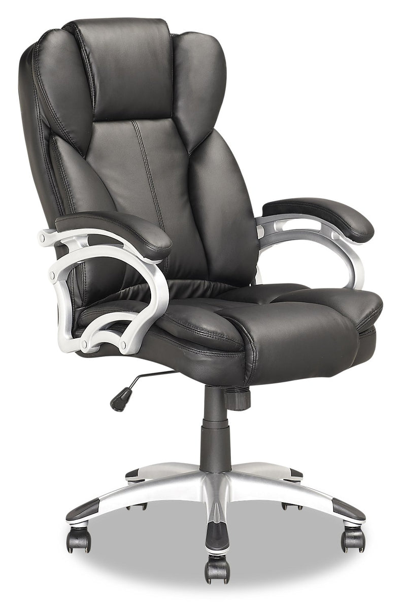 Dieppe Deluxe Office Chair - Black