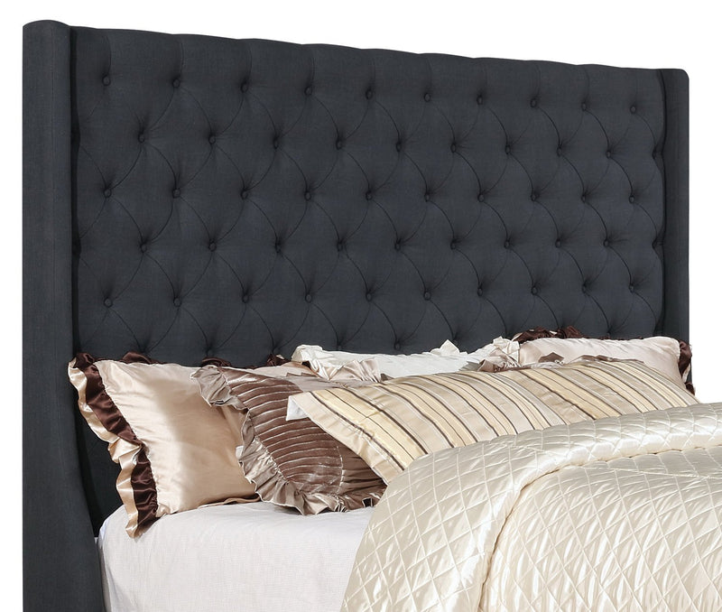 Claudia King Headboard – Grey