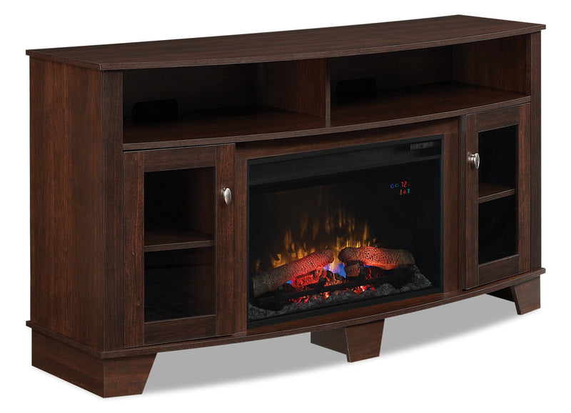 "Micah 65"" TV Stand with Firebox"