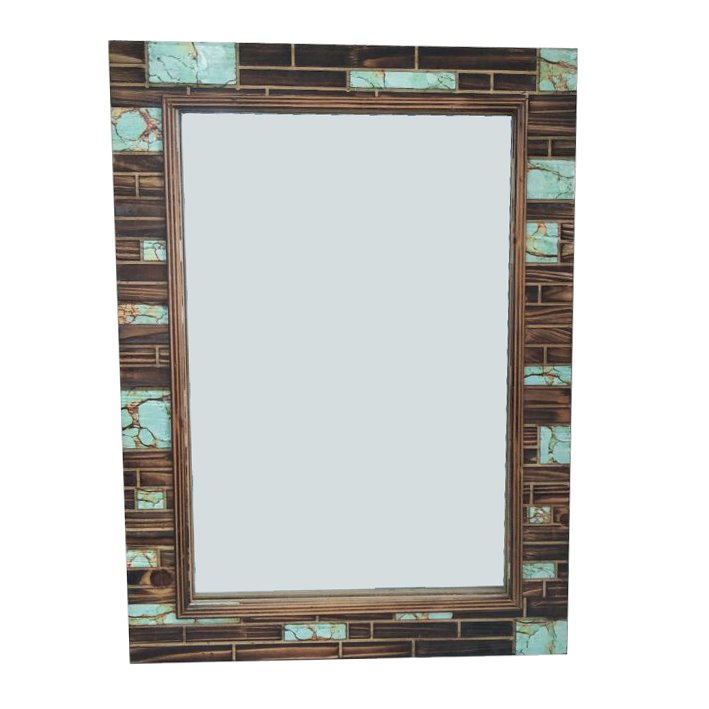 Laconia Wooden Accent Mirror