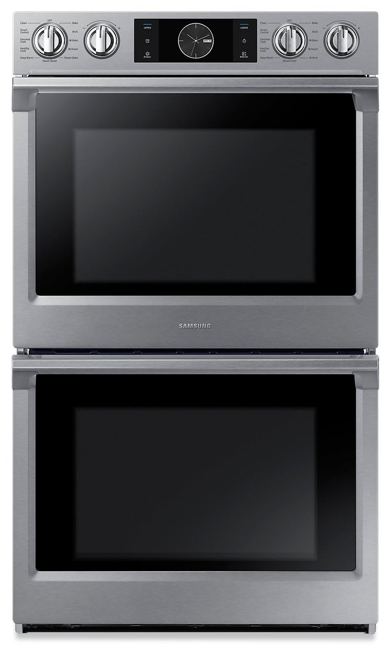 Samsung 10.2 Cu. Ft. Convection Double Oven with Steam Bake and Flex Duo - NV51K7770DS/AA