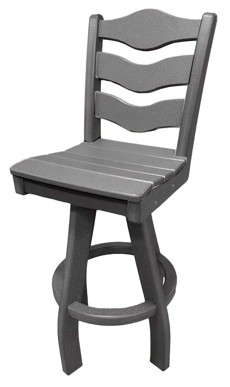 Sun n Sand Swivel Bar Chair - Grey