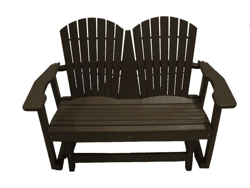 You and Me Glider Bench - Mocha