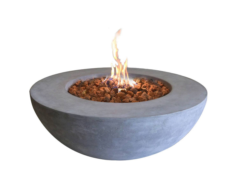 Elementi Luna Bowl Fire Table - Natural Gas