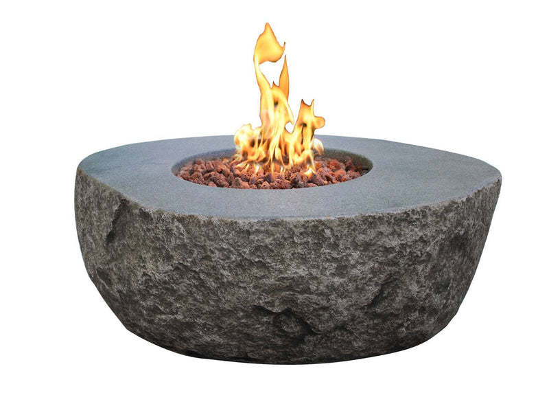 Elementi Boulder Fire Table - Natural Gas