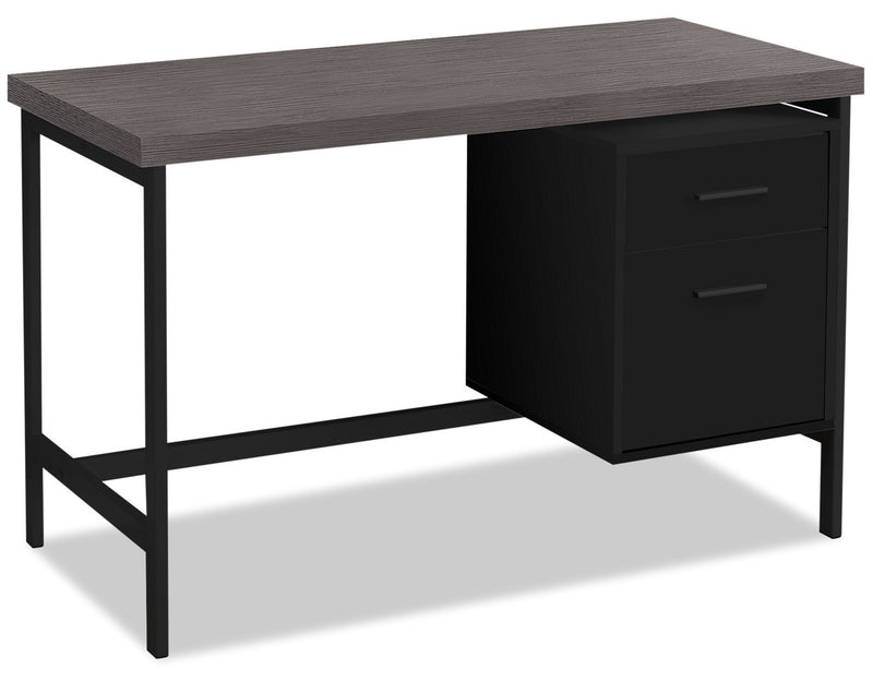 "Patola 48"" Computer Desk with Two Drawers"