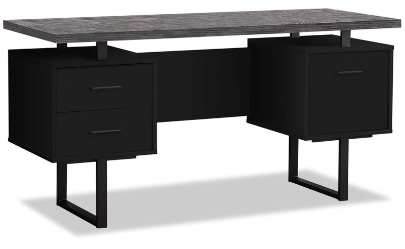 "Patola 60"" Computer Desk with File Drawer"