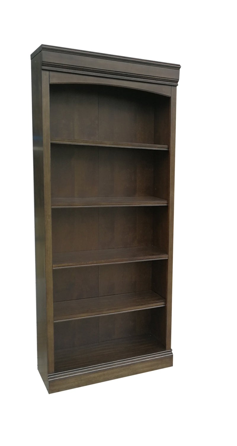 Shane Open Bookcase - Tuscany Brown