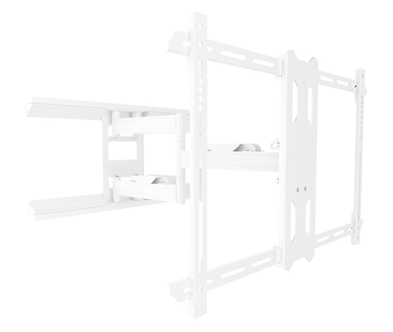 "Kanto PDX650 Full Motion Mount for 37"" to 75"" TVs - White"