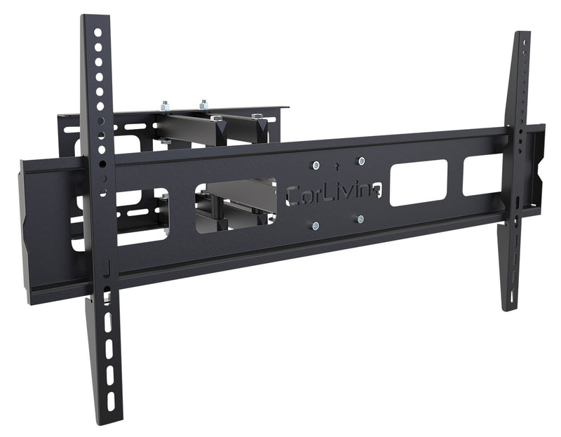 "CorLiving Adjustable 40"" - 80""  Full Motion Flat Panel TV Wall Mount – Black"