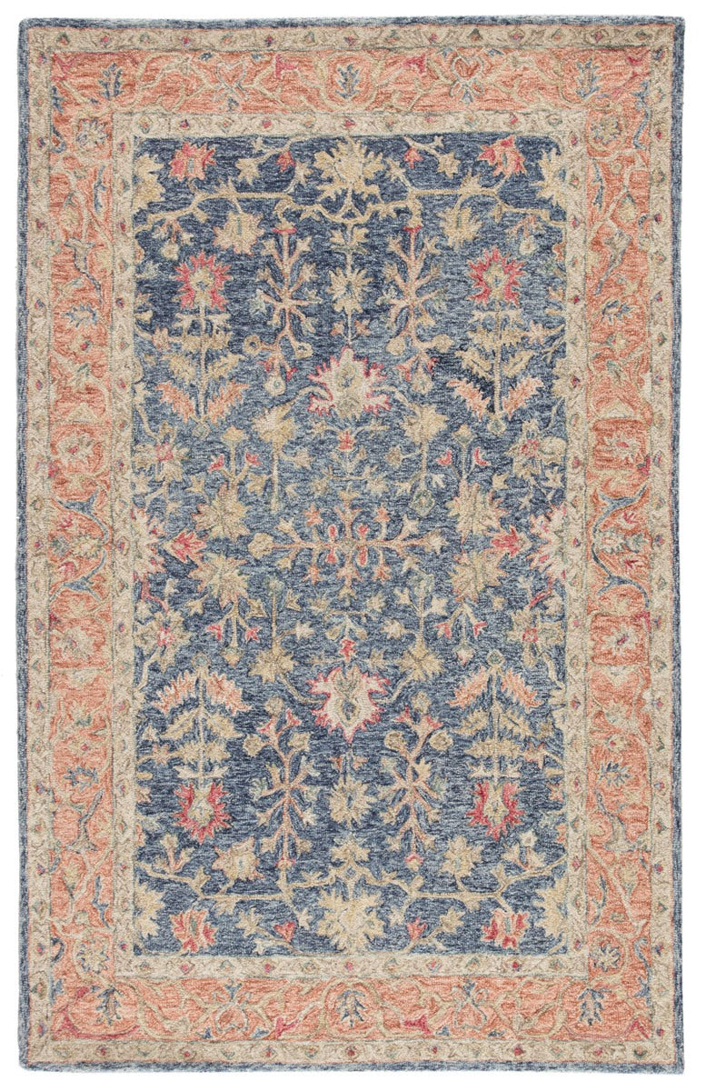 Pargas III Area Rug - 5' X 8' - Blue/Red