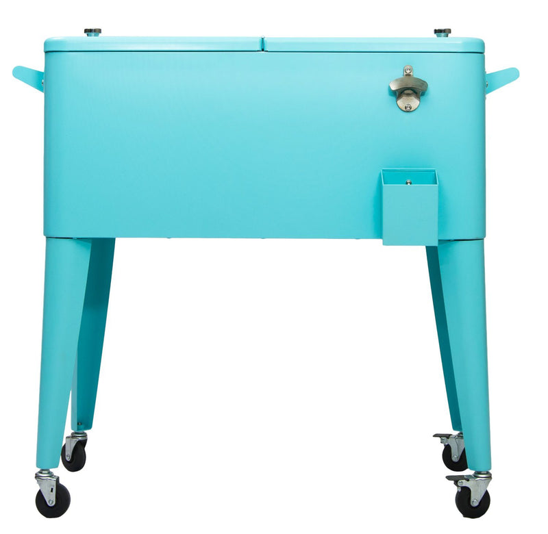 Permasteel 80QT Patio Cooler - Turquoise