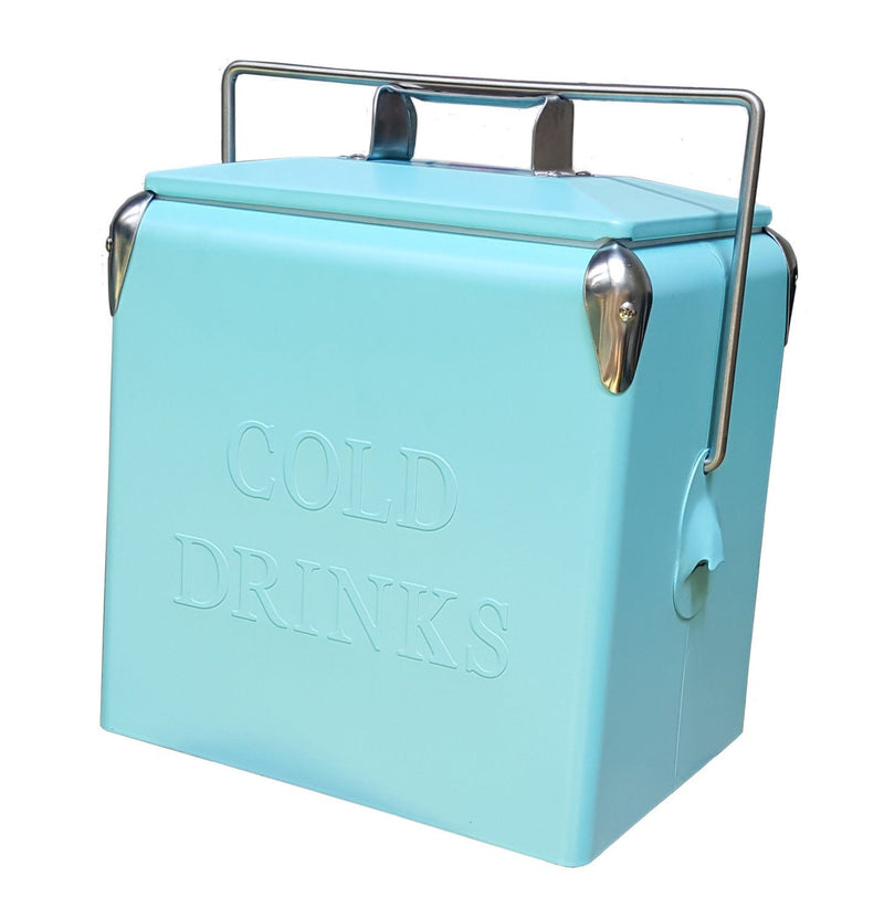 Permasteel 14QT Portable Patio Cooler - Turquoise