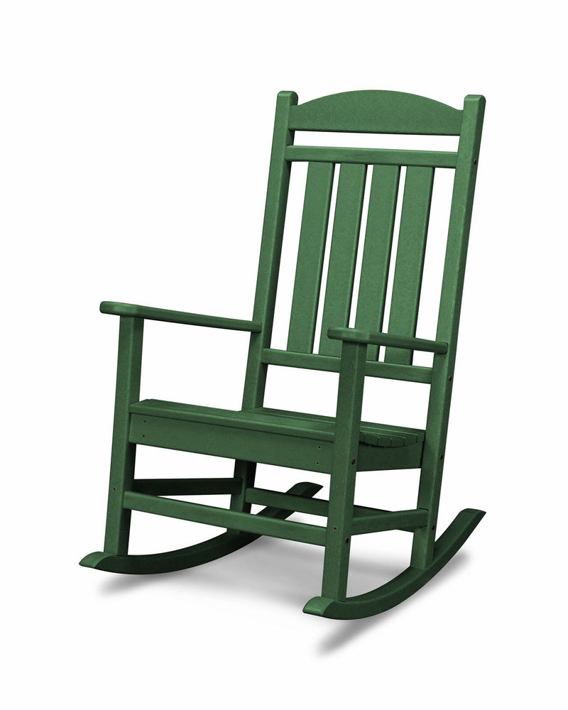 POLYWOOD® Presidential Rocking Chair in Green