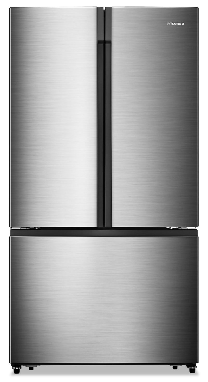 Hisense 20.8 Cu. Ft. French-Door Counter-Depth Refrigerator – RF208N6ASE