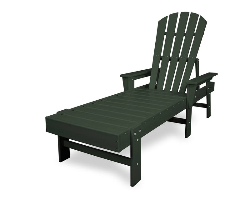 POLYWOOD® South Beach Chaise in Green
