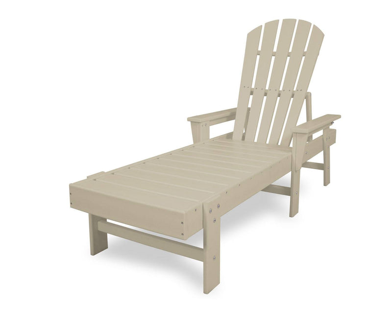 POLYWOOD® South Beach Chaise in Sand