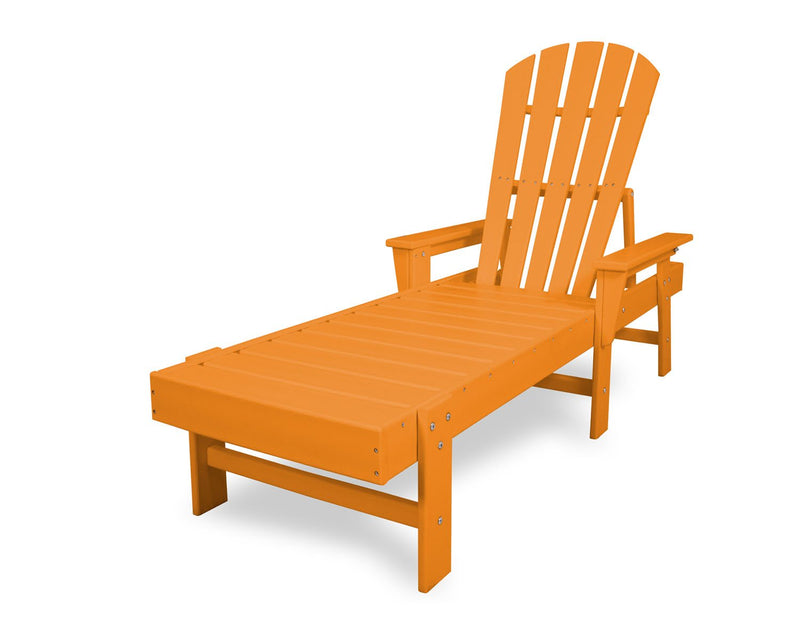 POLYWOOD® South Beach Chaise in Tangerine