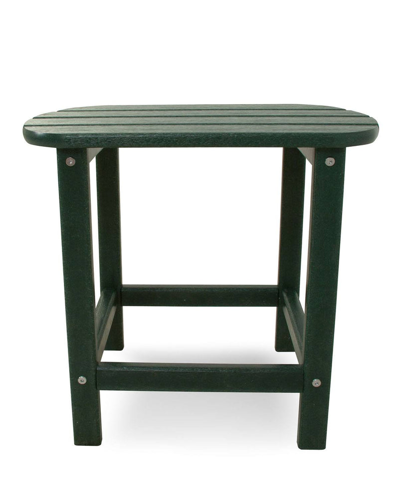 "POLYWOOD® South Beach 18"" Side Table in Green"