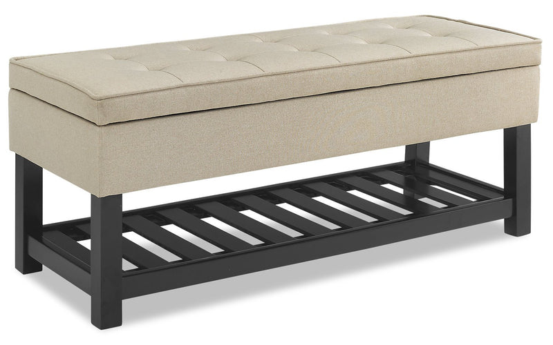 Hawthorne Storage Bench - Oat