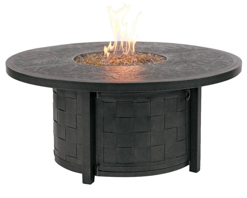 "Classical 48"" Round Coffee Table Firepit"