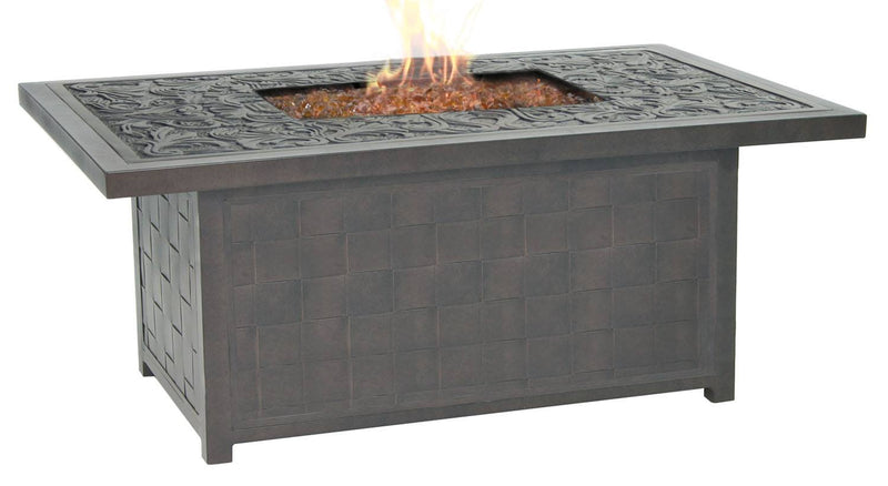 "Classical 36"" x 52"" Coffee Table Firepit"