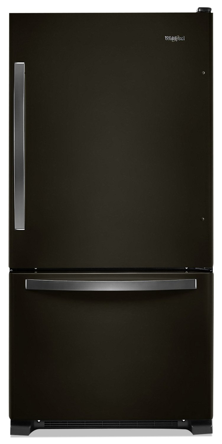 Whirlpool 22 Cu. Ft. Bottom-Freezer Refrigerator - WRB322DMHV