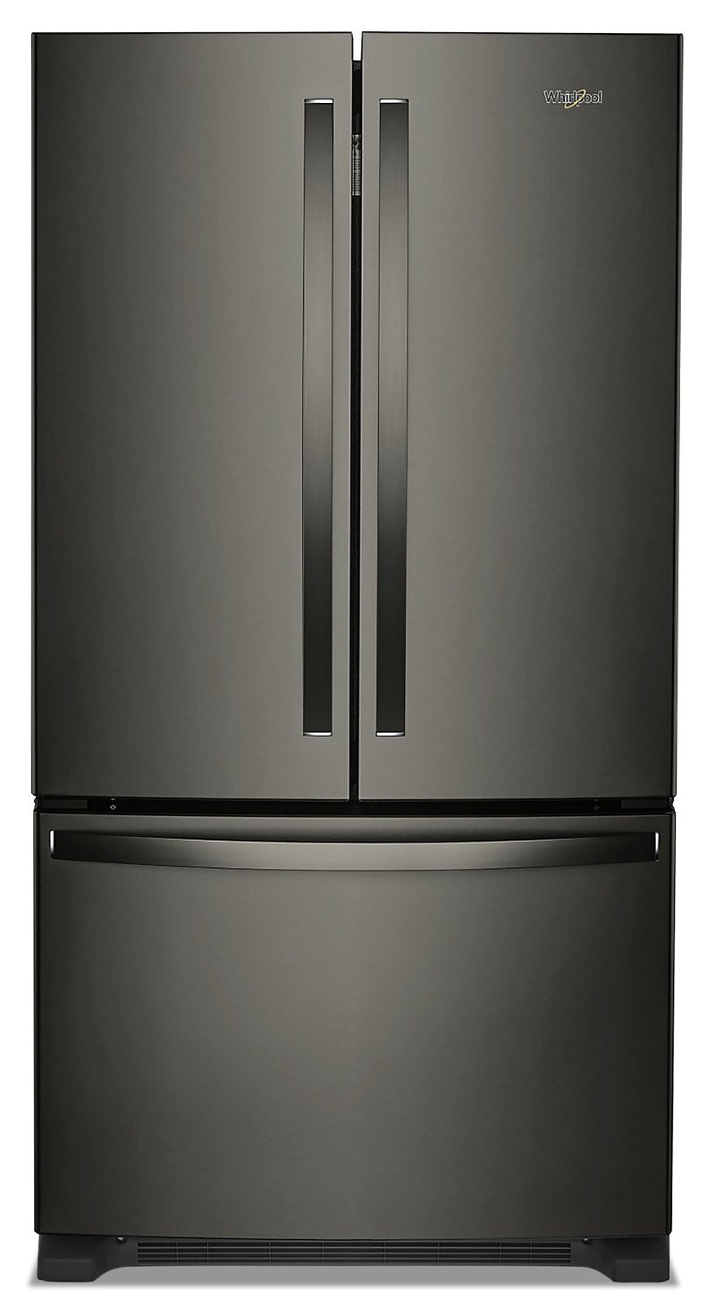 Whirlpool 20 Cu. Ft. Counter-Depth French-Door Refrigerator – WRF540CWHV
