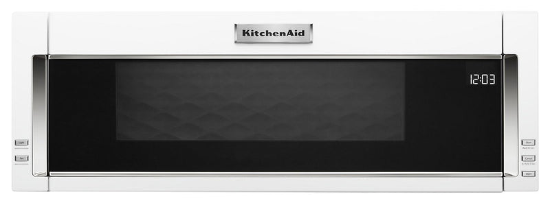 KitchenAid 1.1 Cu. Ft. Low-Profile Microwave Hood Combination – YKMLS311HWH