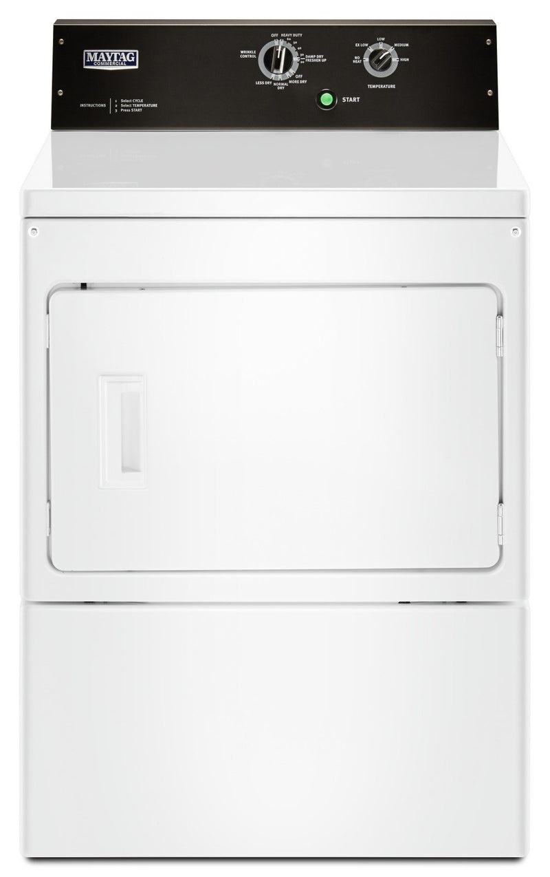Maytag 7.4 Cu. Ft. Commercial-Grade Residential Electric Dryer – YMEDP575GW