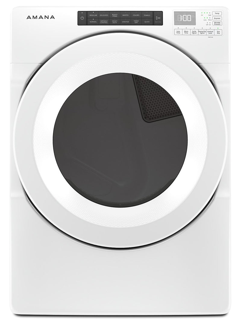 Amana 7.4 Cu. Ft. Front-Load Electric Dryer - YNED5800HW