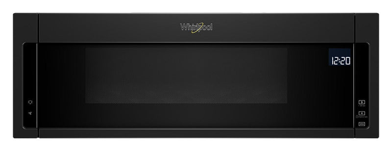 Whirlpool® 1.1 Cu. Ft. Low-Profile Microwave Hood Combination – YWML75011HB