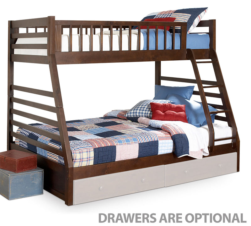 Galaxy Bunk Bed Set - Chocolate Cherry